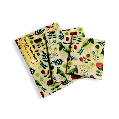 Bees Wax Wrap - Small Kereru