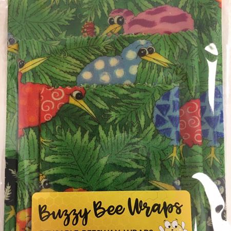 Bees Wax Wrap - Small Kiwi