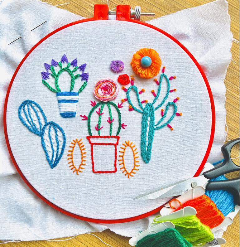 beginner embroidery workshop