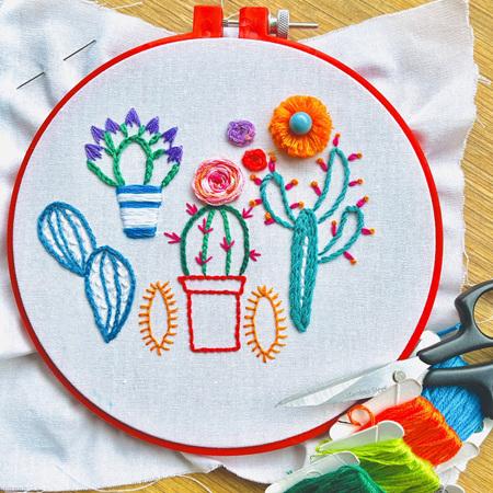 Beginner Embroidery Workshop Deposit 17 July FULL
