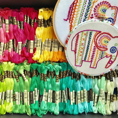 Beginner Embroidery Workshop Deposit - FULL