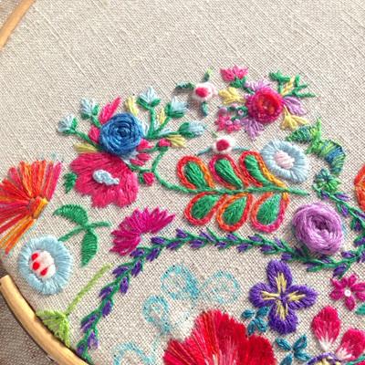 Beginners' Embroidery Workshop Deposit
