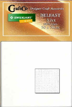 Belfast Linen Fat Quarter - 32 count