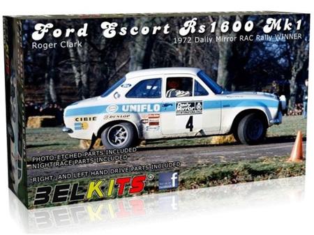 Belkits 1/24 Ford Escort RS1600 MKI Roger Clark