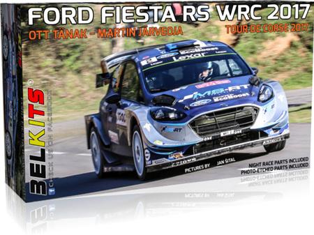 Belkits 1/24 Ford Fiesta RS WRC - Tour de Course 2017 - Tanak