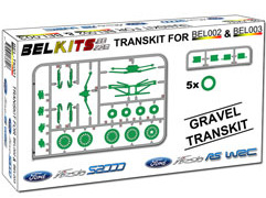 Belkits 1/24 Gravel Transkit for Ford Fiesta S2000/RS WRC