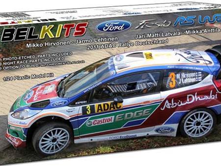 Belkits 1/24 Ford Fiesta RS WRC 2011 ADAC Rallye Deutschland