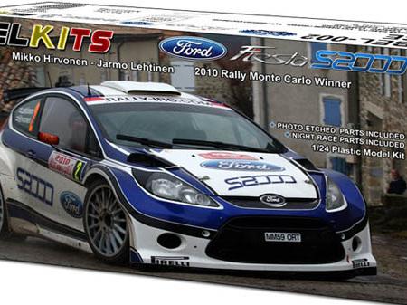 Belkits 1/24 Ford Fiesta S2000 2010 Rally Monte Carlo Winner