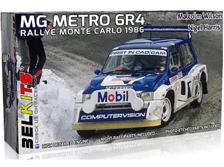 Belkits 1/24 MG Metro 6R4 Monte Carlo 1986 Malcolm Wilson (BEL015)