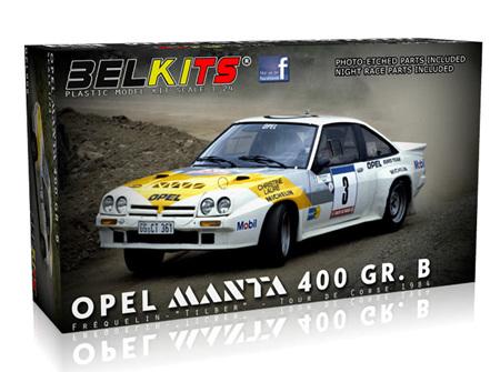 Belkits 1/24 Opel Manta 400 GR.B Frequelin (BEL008)