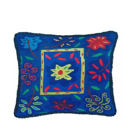 Bella Blue Cushion Kit by Jennifer Pudney
