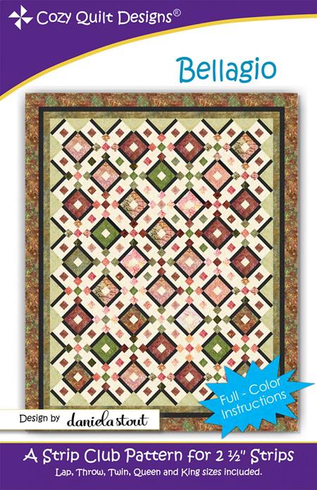 Bellagio Quilt Pattern from Cozy Quilt Designs