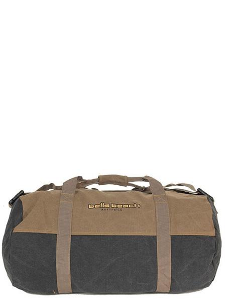 Bells Beach Barrel Bag Charcoal 01