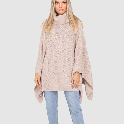 BELLS OUT PONCHO IN NUDE