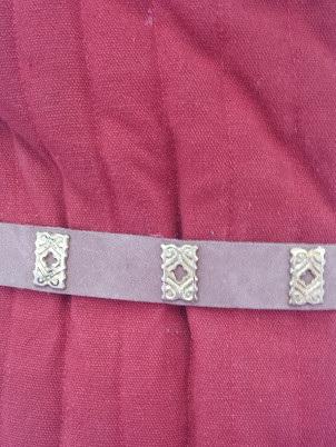 Belt 4 - Medieval Belt with Quatrefoils