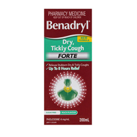 BENADRYL DRY TICKLY FORTE 200ML
