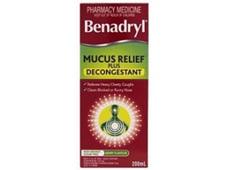BENADRYL Mucus Decongestant 200ml