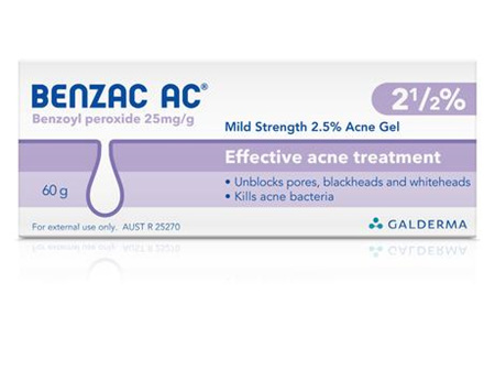 BENZAC AC Gel 2.5% 60g