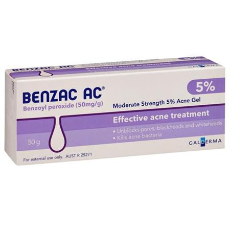BENZAC AC GEL 5% 50G
