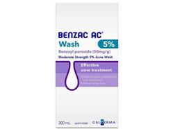 Benzac Acne Wash