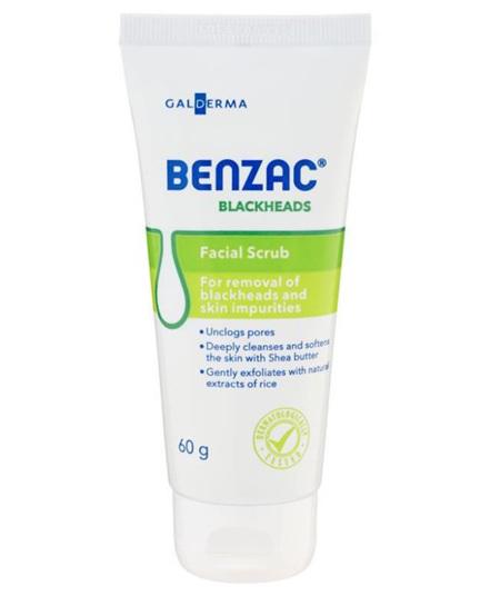 BENZAC BLACKHEADS SCRUB 60G