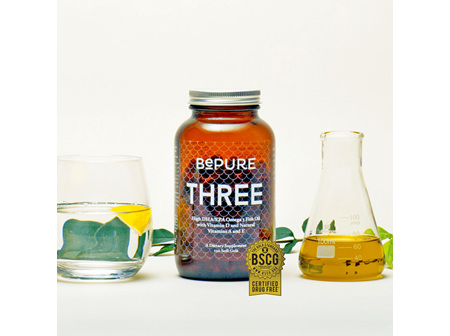 BePure Three Fish Oil 120 Caps