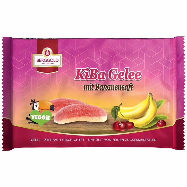 Berggold KiBa Jelly Cherry Banana 210g