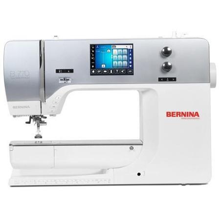 Bernina 770QE Sewing Machine & Embroidery Unit