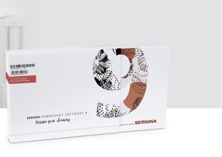 BERNINA Embroidery Software 9 Designer Plus - Full Version -ETA September 2021