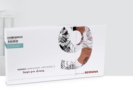 BERNINA Embroidery Software 9 Designer Plus - Update - ETA September 2021
