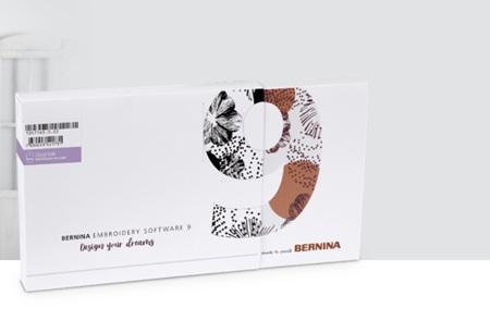 Bernina Embroidery Software 9 Designer Plus - Upgrade - ETA September 2021