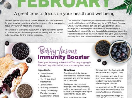 Berry Immune Booster Recipes