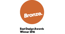 Best Design Awards 2016 Bronze pin winner designed objects The Village Goldsmith