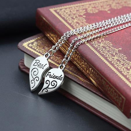 Best Friends 2pk Necklace