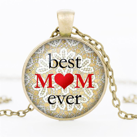 Best Mom Ever Necklace - GOLD CHAIN