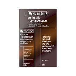 BETADINE ANTISEP SOLN 10% 15ML