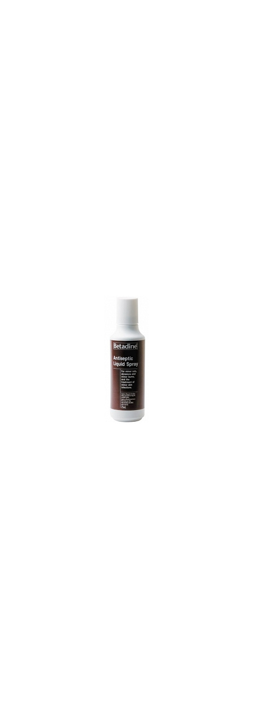 BETADINE Antiseptic Liq. Spray 75ml