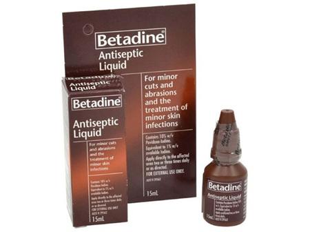Betadine Antiseptic Liquid 15ml