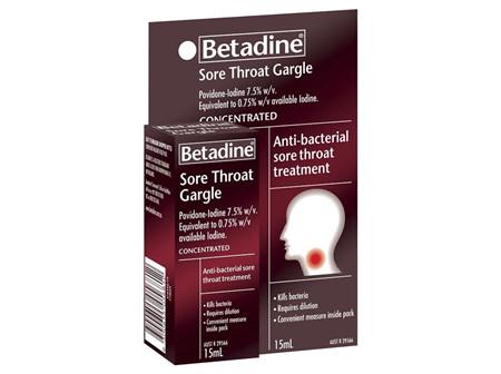 Betadine Conc Gargle 15ml