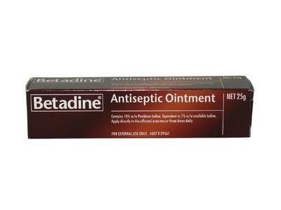 Betadine Ointment 25g