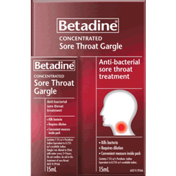 Betadine Throat Gargle Concentrate