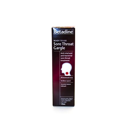 Betadine Throat Gargle Ready-to-use