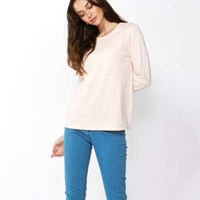 Betty Basics - Millie Top - Blush