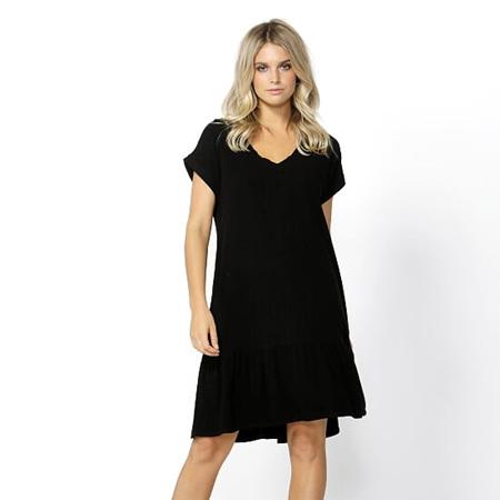 BETTY BASICS RYLAND DRESS IN BLACK