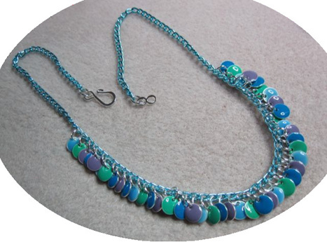 Betty Neve, Epoxy Drops Necklace