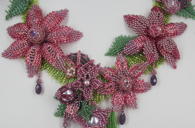 Betty Neve, Paradise Necklace, Fire Mountain Gems and Beads