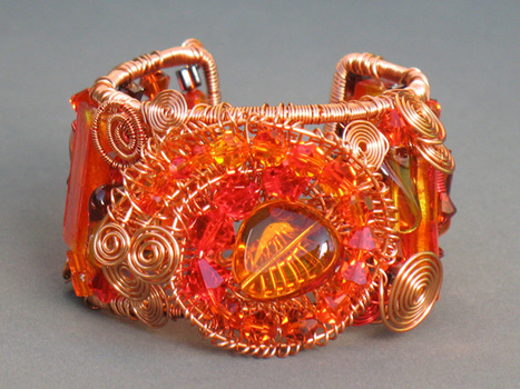 Betty Neve, Southern Sunset, Fire Mountain Gems and Beads