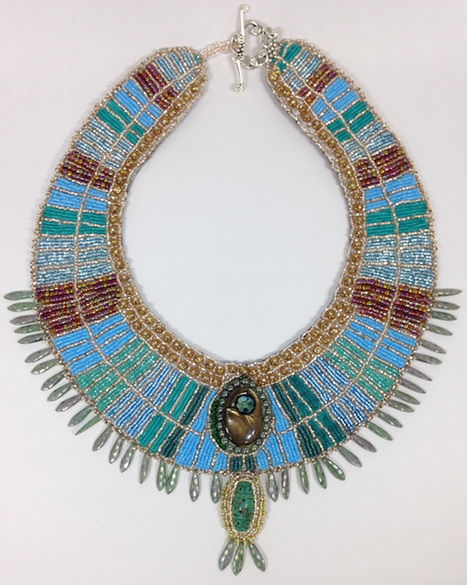 Betty Neve, The Queen's Collar, Fire Mountain Gems and Beads