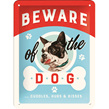 Beware of the dog - cuddles, hugs and kisses