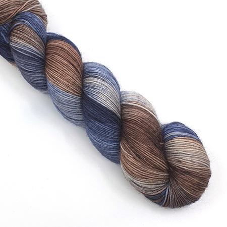 4ply BFL Bluefaced Leicester Wool Yarn \u2013 Purple Haze